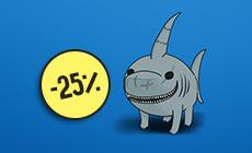 Акция от Pyramid Seeds: -25% на Auto Shark