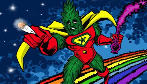 Лига супер-героев: два героя Pyramid seeds