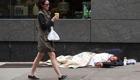 Диспенсарии помогают бездомным