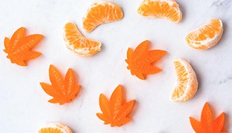 Японская компания производит масло КБД из апельсиновой корки