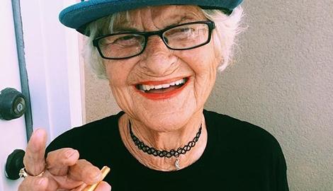 81-летняя бабушка задержана за выращивание mj
