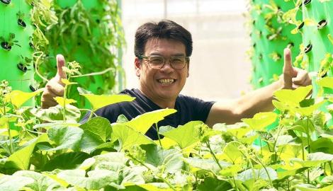 Парализованный Сити-фермер из Малайзии реализовал свою мечту