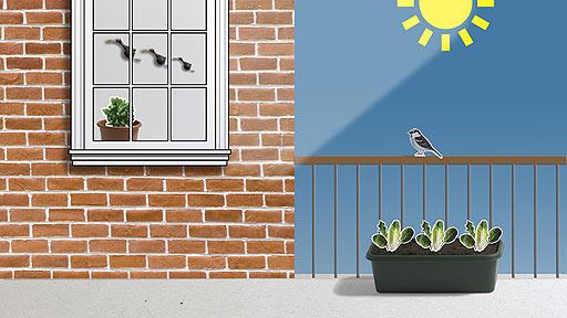 Как согреть гроубокс зимой на балконе