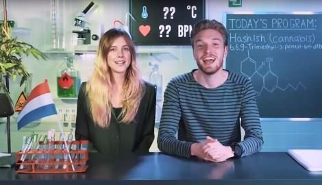 Видео: Нелли балдеет от гашиша (Drugslab)