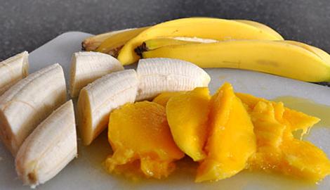 "КаннаКухня: ""Смузи с манго и бананом"""