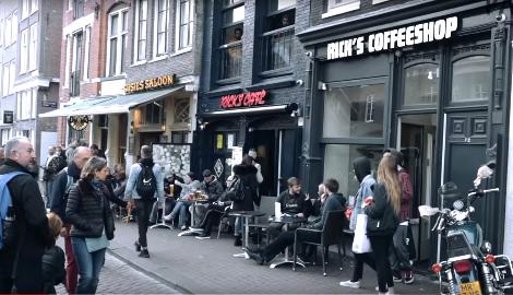 Видео: Кофешопы, драгтуризм и легалайз в Амстердаме