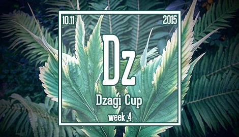 Новости DzagiCup'15. Неделя 4.