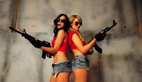 Гляди, какие красивые Kalashnikova!
