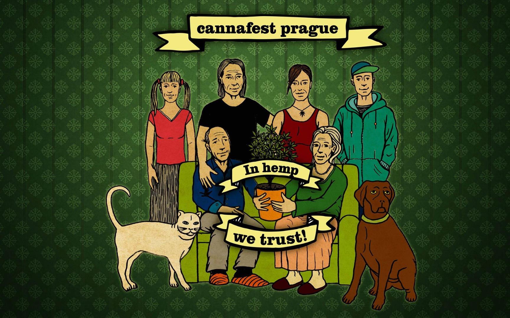 Прага готовится к Каннaфесту!