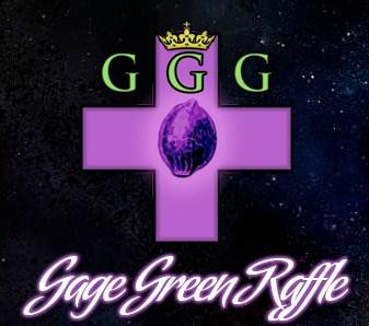 Розыгрыш от Gage Green
