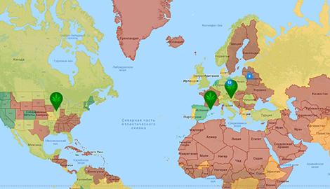Атлас mj: страны, вкоторых марья легализована, декриминализована илизапрещена