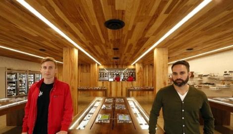 Конопляные магазины Калифорнии перенимают дизайн у Apple