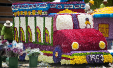 В колумбийском Медельине прошел традиционный фестиваль цветов