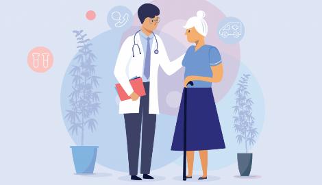 Пенсионеры стирают грань между медицинским и рекреационным использованием каннабиса