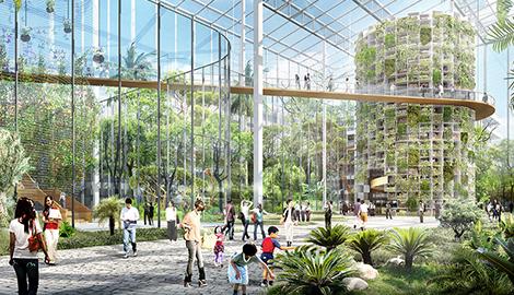 В Шанхае построят городской квартал для гидропоники