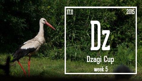 Новости DzagiCup'15. Неделя 5. Непростая