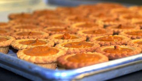 КаннаКухня: Тыквенные тарталетки