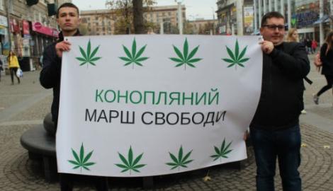 Как прошел «Конопляный марш» в Киеве