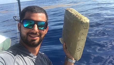 Рыбак в свой ДР выловил большой сверток с марьей