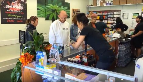 Видео: Где покупают марихуану в Сан-Франциско?