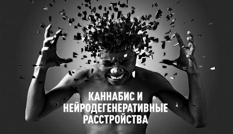 Каннабис и нейродегенеративные заболевания