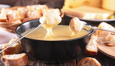 Dinafem: Сырное фондю