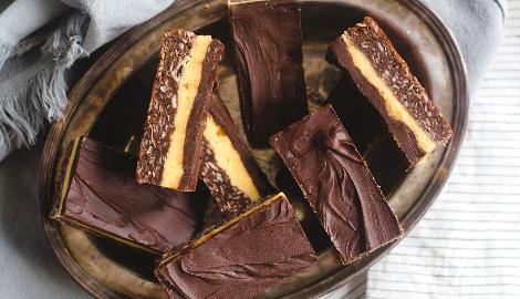 КаннаКухня: Шоколадные батончики «Nanaimo Bars»