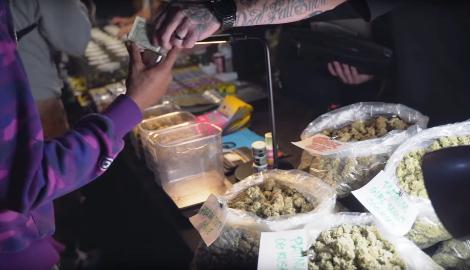 Видео: Чёрный рынок в Лос Анджелесе (koma republic)