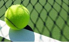 Теннис с характерным запахом травы