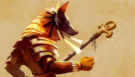 Pyramid seeds: божественный Anubis