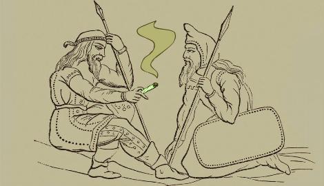 Употребление каннабиса в древнем мире