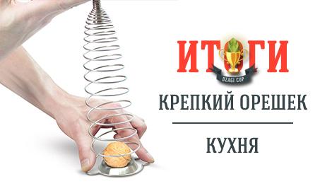 Самый Крепкий Орех и Лучший рецепт DzagiCup'15
