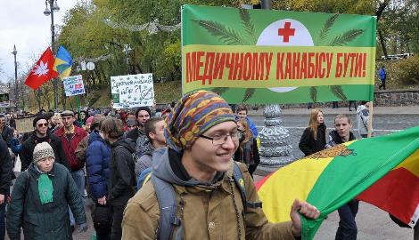 Украинцев спросят о легализации медицинского каннабиса