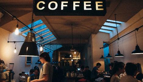 В Израиле открылся первый кофешоп