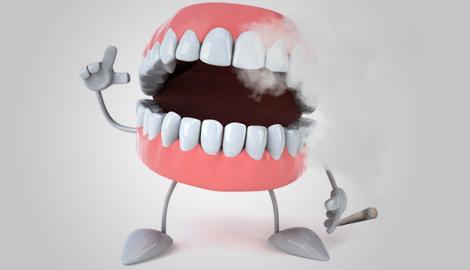Каннабис практически не влияет на здоровье организма, за исключением зубов