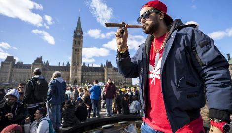 Канадцы стали больше употреблять каннабис
