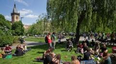В Праге прошла массовая манифестация за легализацию