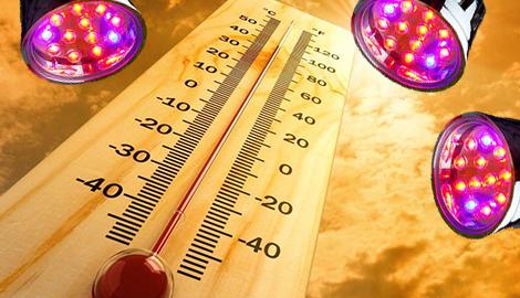 LED и тепло