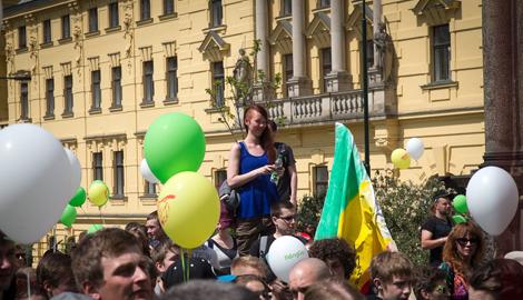 В Праге пройдет марш за легалайз mj