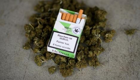 В Швейцарии в супермаркетах начнутся продажи сигарет с mj