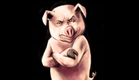 Свинское преступление раскрыто!