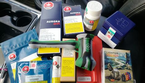 В Канаде 8-летний ребенок выиграл продукты из марихуаны