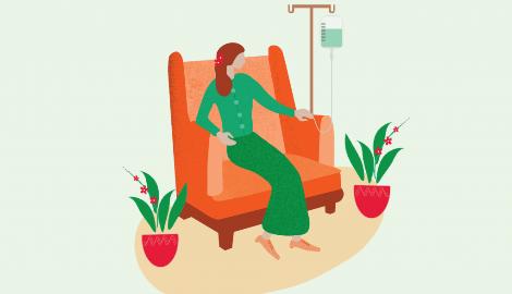 Как правильно употреблять каннабис во время химиотерапии