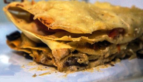 КаннаКухня: Лазанья с соусом Бешамель