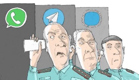 Мессенджеры наподобие Telegram