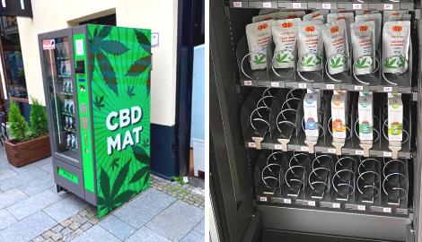 В Чехии установили торговые автоматы с КБД