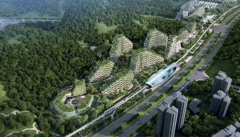 "В Китае построят ""город-лес"""