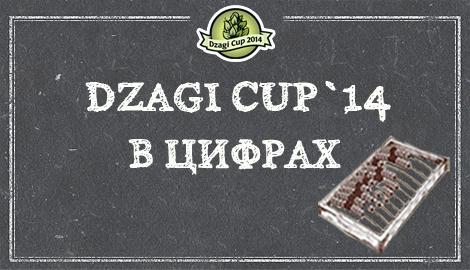 Dzagi Cup`14 в цифрах