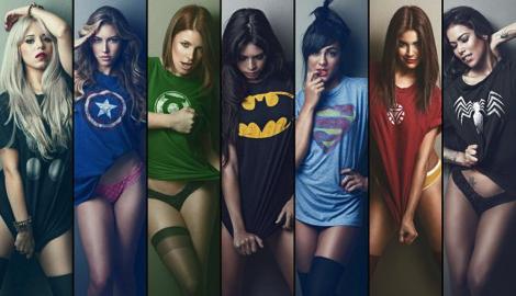 Лига Супер-героев: Wonder Woman vs. White Widow (Nirvana)
