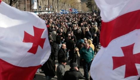 Активисты Тбилиси столкнулись с полицией
